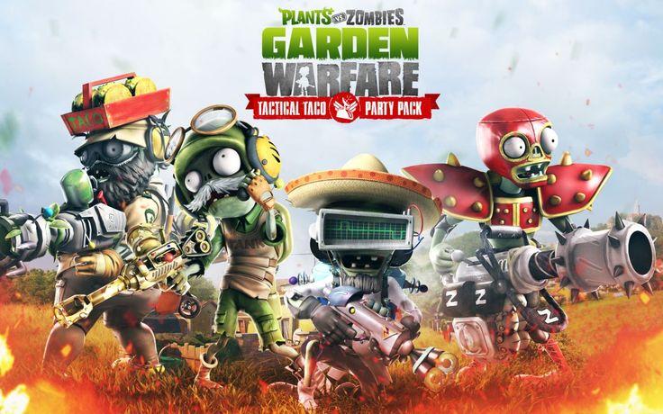 Plants Vs Zombies Garden Warfare Throws A Tactical Taco