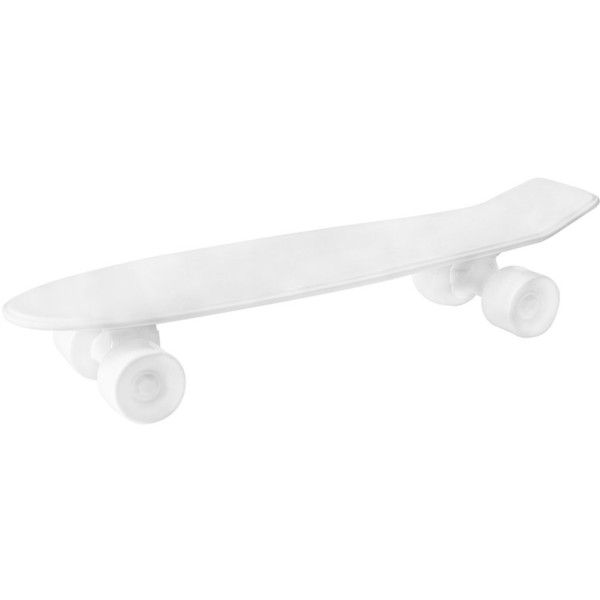 Seletti Skateboard Porcelain Tray - White ($155) ❤ liked on Polyvore featuring home, kitchen & dining, serveware, accessories, fillers, other, skate, porcelain serveware, white tray and white porcelain tray