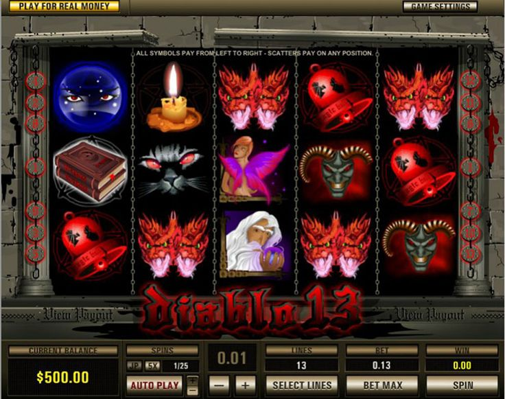 The Diablo 13 slot game is a machine designed specifically for the enthusiasts of darkness and obscurity; it is practically as if Edgar Allan Poe had a function in the designer team, which, by the method is Pragmatic Play, which is among the fastest growing names in online gambling establishment video games industry, and which spawned over 150 leading video games, which is an evidence of their quality. The free online Diablo 13 slots is embeded in exactly what seems to be a deep, dark…