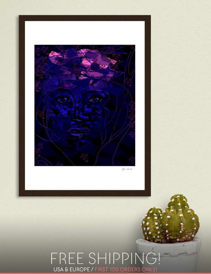 Discover «Cosmo», Numbered Edition Fine Art Print by Tatyana Binovska - From $19 - Curioos
