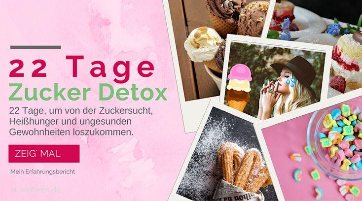 Zuckerfreie Ernährung: Zuckerfrei leben - Erfahrung, Bewertung 22 Tage Zucker Detox Kur (Zuckerentzug ). Zuckerentwöhnung: Auswirkungen, Vorteile (Werbung)