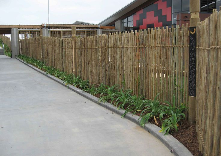 Eucalypt from Brustics provides a natural fencing option and is a popular choice for coastal properties, pool fencing and playgrounds