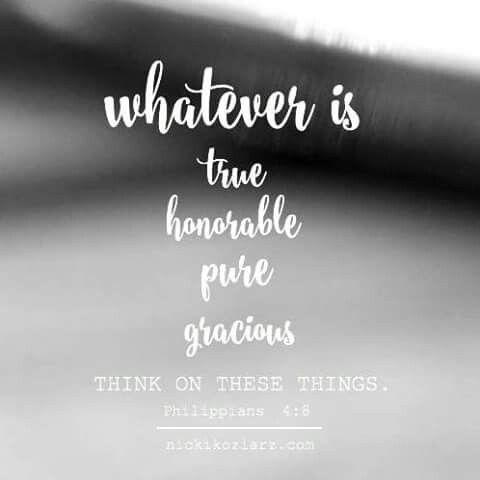Philipians 4:8