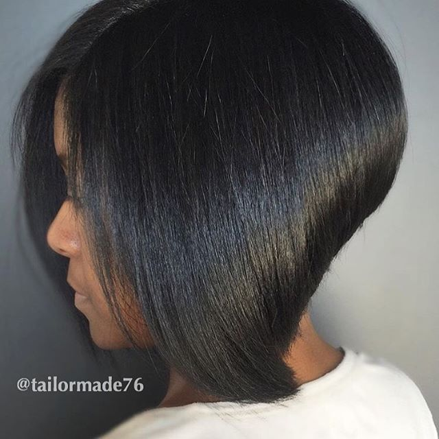 STYLIST FEATURE| This bob is everything by #atlstylist @tailormade76 ✂️ Gorgeous…