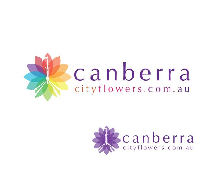 Logo for Local Canberra Online Flower Shop by loparka