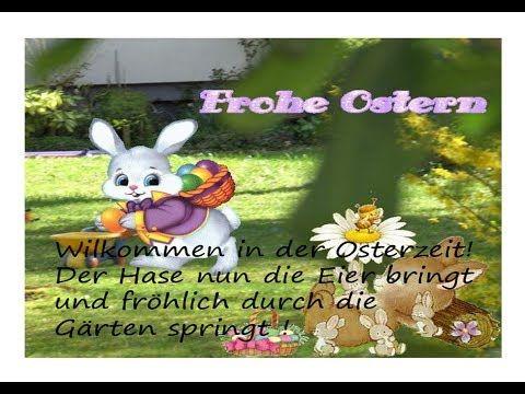 Zauberhafte Oster Grüße Frohe Ostern Beautiful Easter