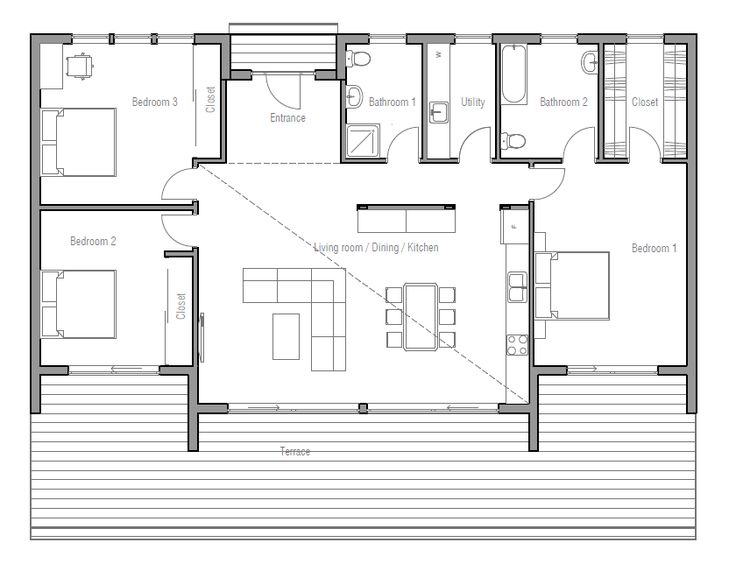 183 Best House Plans Images On Pinterest | House Floor Plans