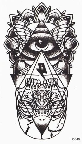 Product Information - Product Type: Egyptian Evil Eye Temporary Tattoo Tattoo…