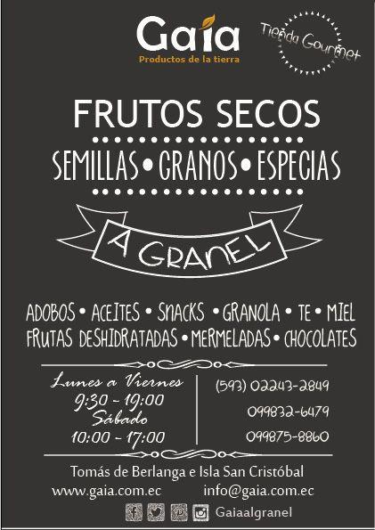 Los mejor en frutos secos a granel en Quito!!!