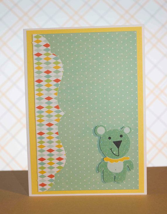Party Animals Teddy Bear Greeting Card by TartanElephantAus, $6.00