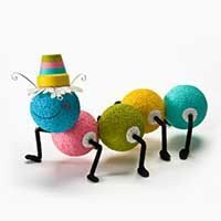 Clay Pot Snail with FolkArt Paint Teresa Hutto DIY und Kunsthandwerk