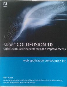 My ColdFusion book and the learnings!