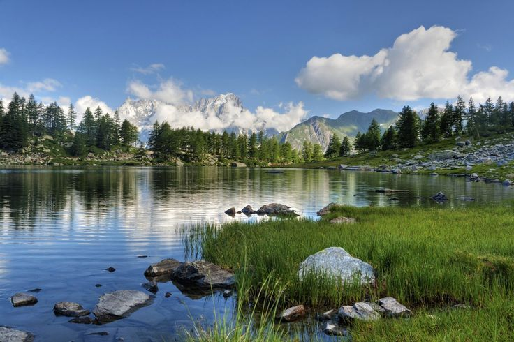Aosta - Attrazioni riserva  naturale Côte de Gargantua