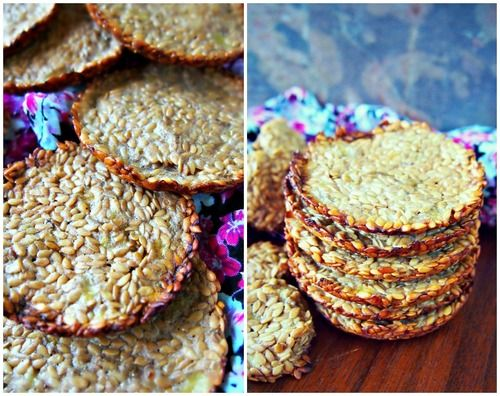 Banana Flax Crackers