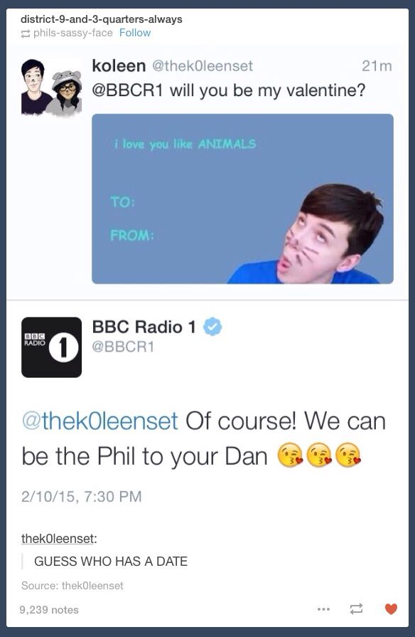 BBC Radio 1 and Tyler Oakley are pretty much sailing that ship at this point tbh