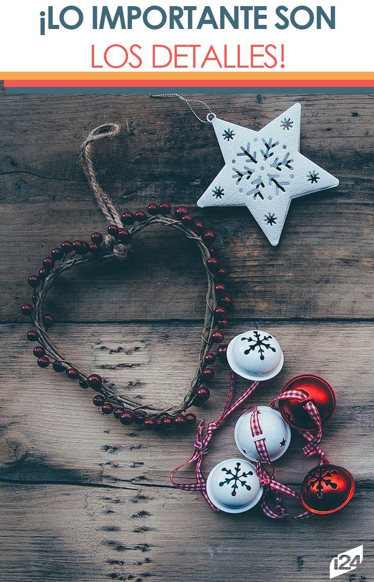 En estas navidades enfócate en los detalles y tendrás la mejor decoración #navidad #christmas #decoración