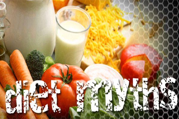Αυτοί οι μύθοι στον τομέα της διατροφής προκαλούν όντως μείωση βάρους?