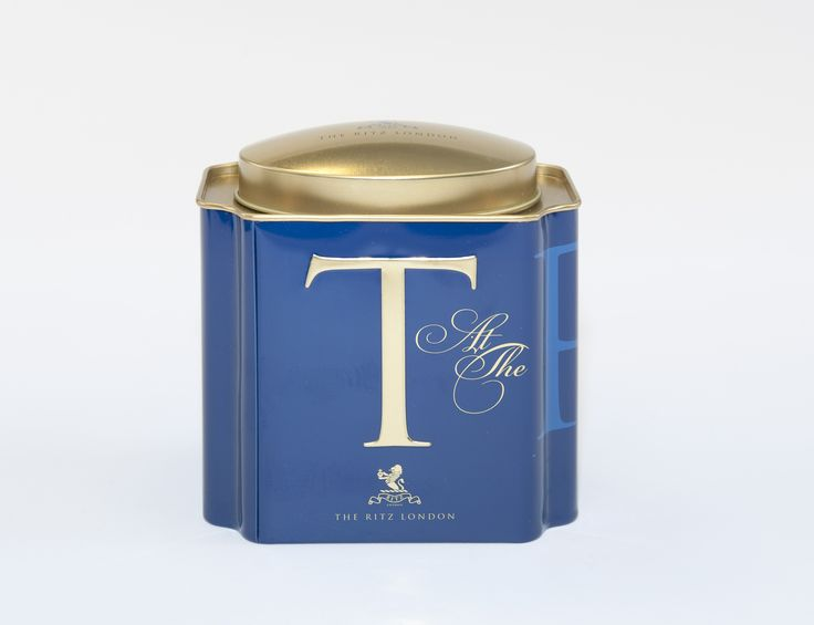 Tea Tin with Ritz Royal Blend Tea. Our elegant tea tin contains 106g of blended Black Loose Tea-Ceylon & Assam teas. https://theritzlondon.com/shop/product.php?product=148