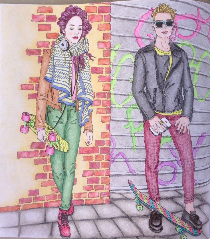 The Look An Around World Fashion Coloring Book By Suwa Materiel
