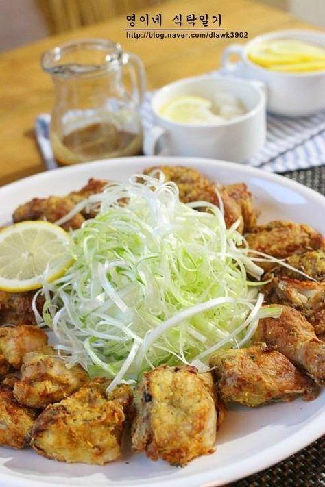 [닭요리] 겨자 파닭 소스 만들기/에어프라이어 치킨! 파닭 만들기~♬ – 레시피 | Daum 요리