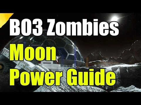 Black Ops 3 Zombies Moon How to Turn On the Power