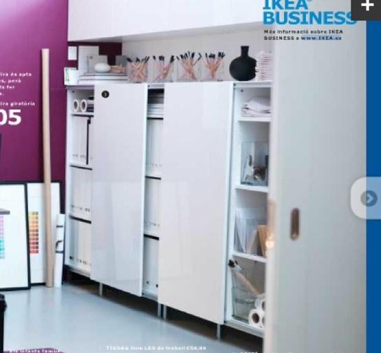Ikea besta pag 132 mueble 2 puertas correderas 195 128 - Armarios oficina ikea ...