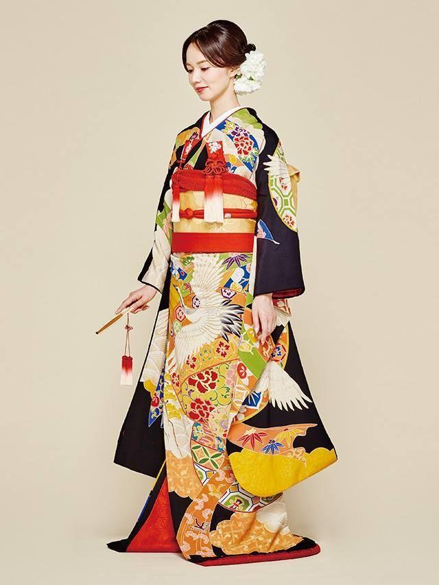 Colorful Bridal Furisode