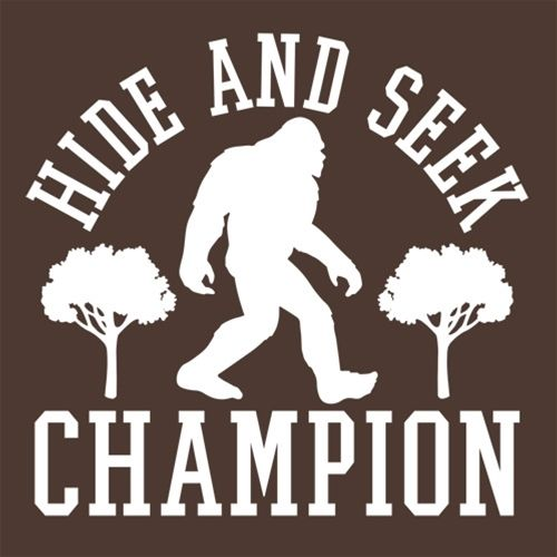 Bigfoot - Hide And Seek Champion T-Shirt