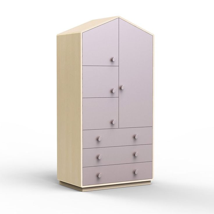 armoire enfant kunto en forme de maison httpwwwmachambramoicom - Armoire Bebe Winnie Lourson
