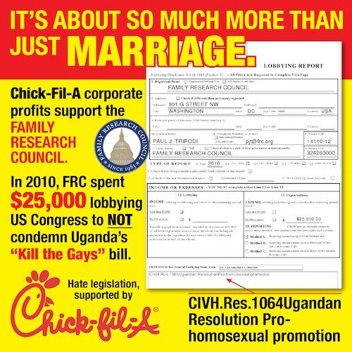 Chick-Fil-A Profits Are Supporting Uganda's 'Kill The Gays' Bill?