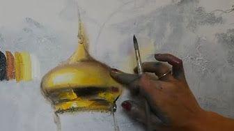Уроки живописи маслом от Ольги Базановой: сочетание цветов в живописи маслом - YouTube