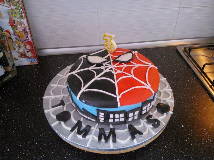mamy in love: TORTA SPIDERMAN per TOMMY con TUTORIAL