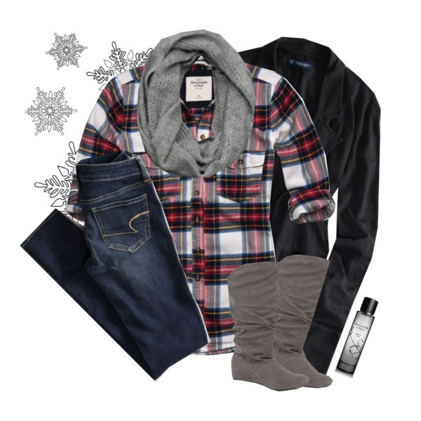 Winter outfit, in love with this outfit! The perfect combination for a country gal such as myself ; )