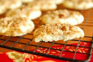 12 Days of Cookies: Shortcut Sour Cream Coffee Cake Cookies