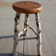 birch stool