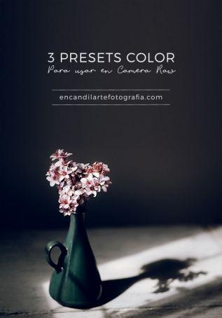 3 presets color para ACR gratuitos. Encandilarte Escuela de Fotografía