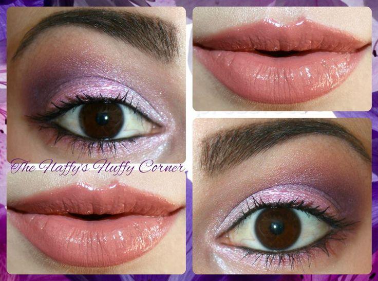 "Coleur Lipliner 2 Reddy Brown by Alva + Lip Gloss Wet Lip Effect ""Innocent Pink"" by FM Group"