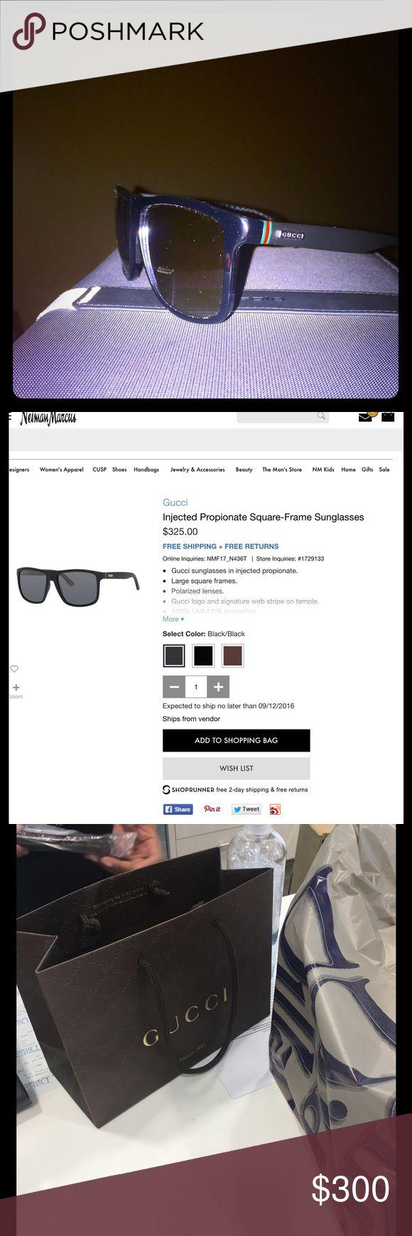 Gucci Sunglasses Gucci black sunglasses Gucci Accessories Glasses