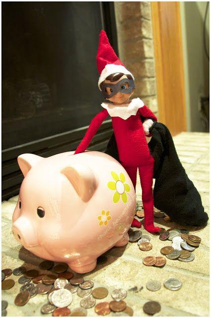 putting money in their piggy bank