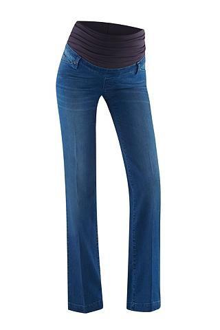 Jeans Maya flared Angesagte Jeans Maya Flared mit Bügelfalte von bellybutton. Für einen optimalen Sitz, während der Schwangerschaft, sorgt der verstellbare Mechanismus im Inneren der Schwangerschaftshose. Geschlecht: Damen Material: 80 % Baumwolle, 18 % Polyester, 2 % Elasthan