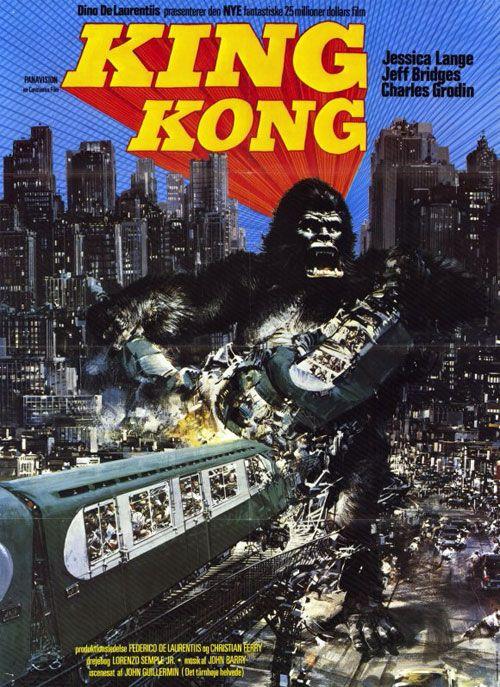 1976 Movies   King Kong (1976) movie poster #4 - SciFi-Movies