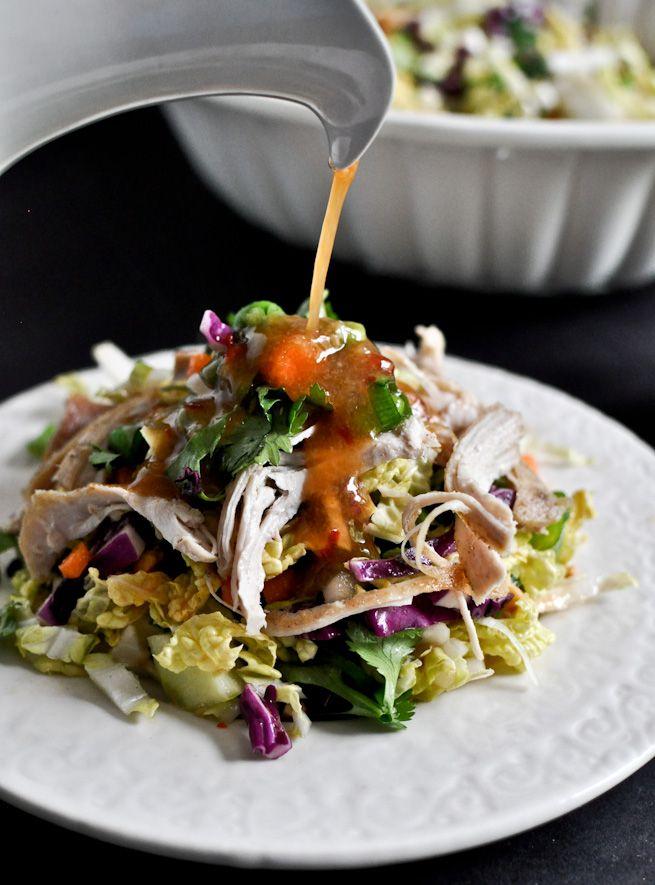 thai chicken crunch salad