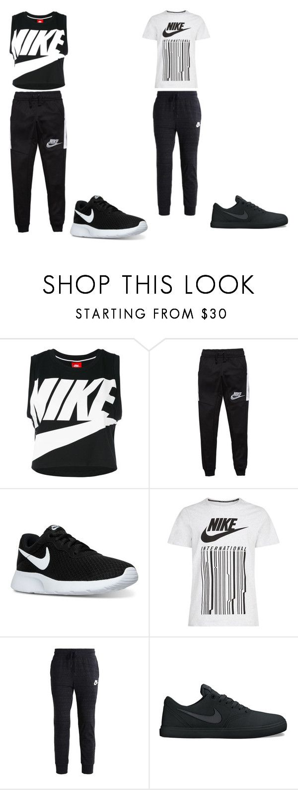 """""""Look dance"""" by kettykimmich ❤ liked on Polyvore featuring NIKE"""