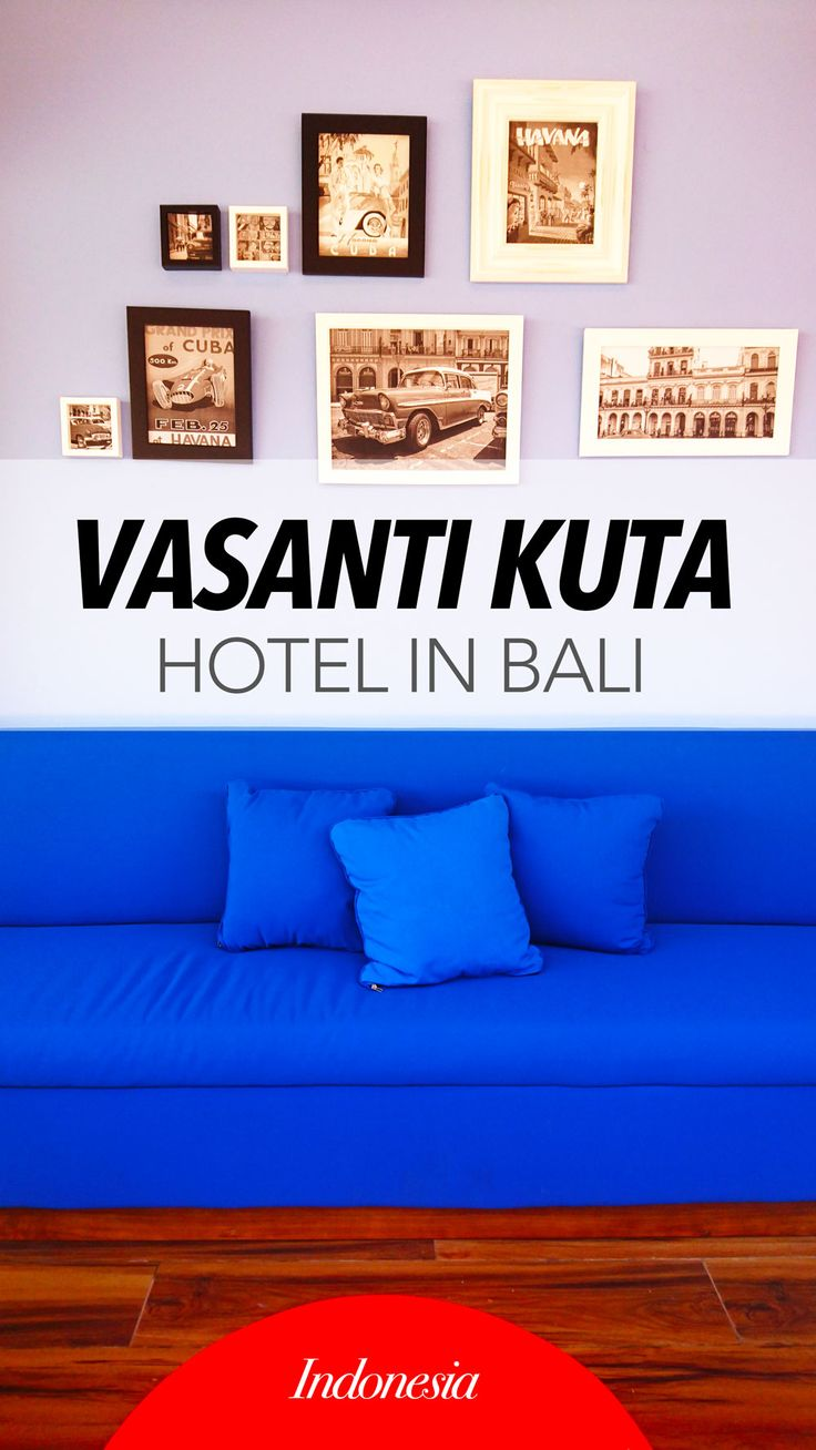 Vasanti Kuta Hotel in Bali is one of the 4 star hotel located near to the Ngurah Rai Bali International Airport.