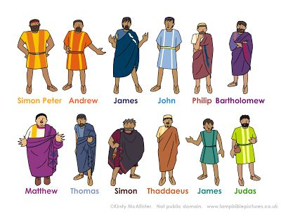 He called his twelve disciples to him and gave them authority to drive out evil spirits and to heal every disease and sickness. These are the names of the twelve apostles: