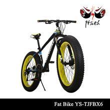 Neues modell beliebt schnee Fett fahrrad/Schnee ski bike/Fett reifen bikes mit doppelkrone federgabel