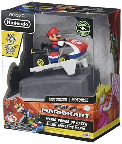 #World of #Nintendo #Mario #Kart #Chargers - #Mario #Toy #Figure Power up your #Kart on the charger to build up speed for stunts and racing! Pack includes motorized #Kart and power-up charger Collect them all! https://technology.boutiquecloset.com/product/world-of-nintendo-mario-kart-chargers-mario-toy-figure/