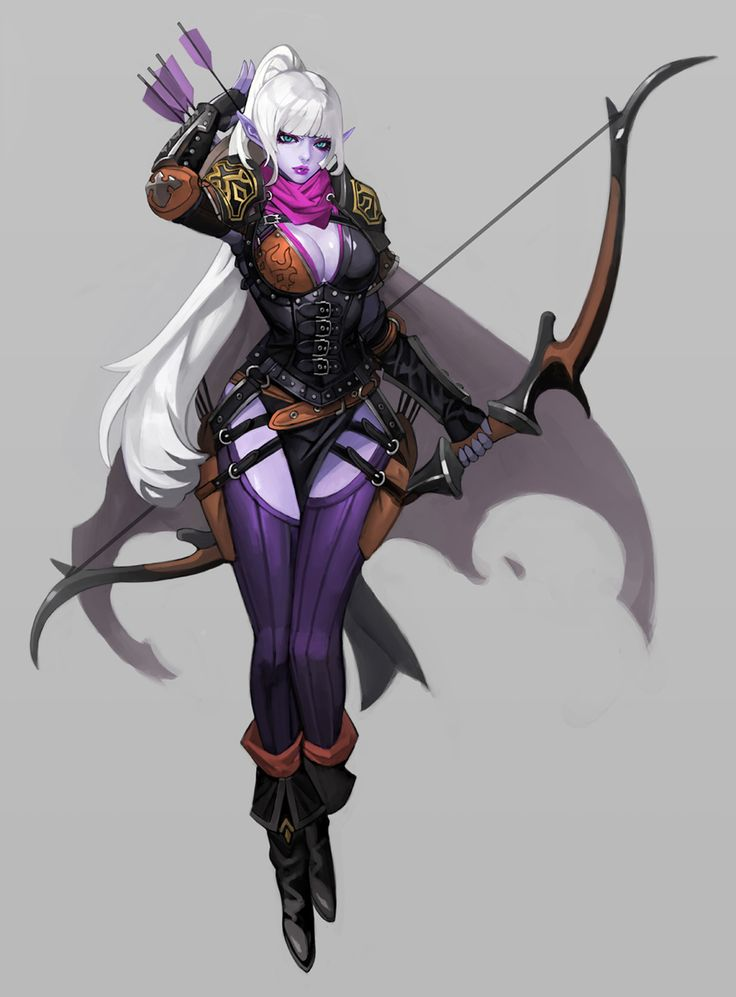Gnomon Character Concept Design : Best images about fem elf character design fantasy