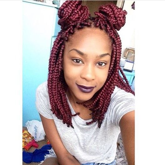 I'm looking for her? This is adorbs! #braids #boxbraids #bestboxbraids