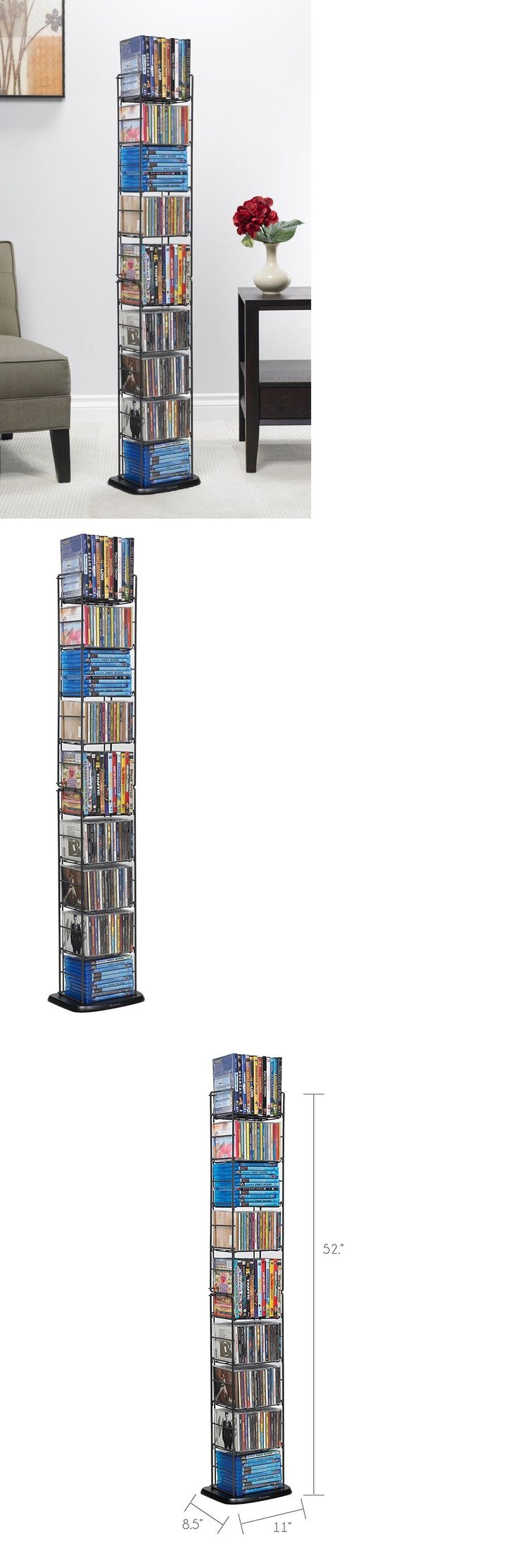 CD and Video Racks 22653: Dvd Media Storage Cd Tower Organizer Folding Rack Shelf Multimedia Stand Holder -> BUY IT NOW ONLY: $34.22 on eBay!